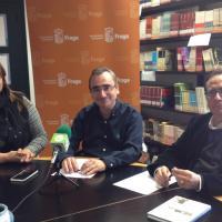 Marta Cabrera, Miguel Luis Lapeña y Ricardo García Prats