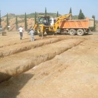 Cementerio obras ampliación