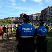 Descenso del Cinca Policía Local