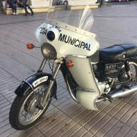 Moto Policia Municipal