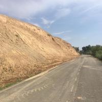obras camino Fraga Massalcoreig