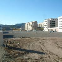 Terrenos cedidos por el Ayuntamiento para la construcción de la residencia