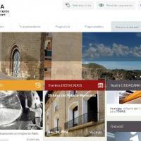 Página Web Ayuntamiento Fraga